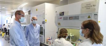 Prince William visited coronavirus scientists trying to find a vaccine