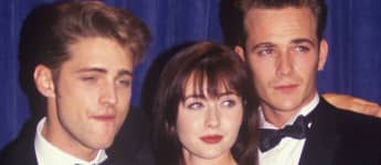 Jason Priestley, Shannen Doherty, and Luke Perry