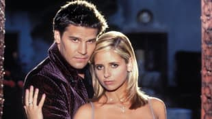 David Boreanaz  Sarah Michelle Gellar Buffy