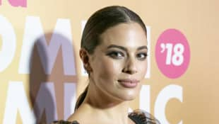 Ashley Graham's Husband Shot Her 'Harper's Bazaar UK' Cover On Their Farm In Nebraska