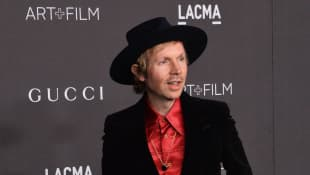 Beck attends the ninth annual LACMA Art+Film gala honoring Betye Saar and Alfonso Cuaron at the Los Angeles County Museum of Art in Los Angeles on Friday, November 2, 2019
