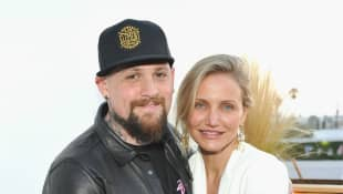 Benji Madden and actress Cameron Diaz attend House of Harlow 1960 x REVOLVE on June 2, 2016
