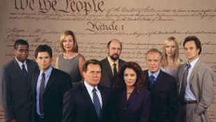 The cast of 'The West Wing'