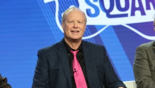 Bill Fagerbakke attends the Viacom Winter TCA 2019 panel on February 11, 2019 in Pasadena, California
