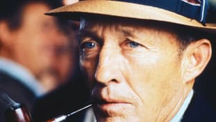 Bing Crosby is pictured in August 1971