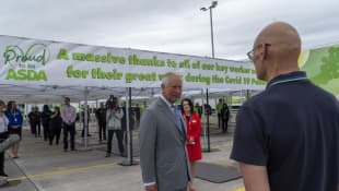 Bristol Man Faints While Speaking To Prince Charles In Concerning Video
