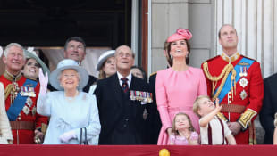 The British Royal Family at Trooping the Colour 2018