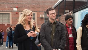 "Cameron Diaz and Justin Timberlake starred together in ""Bad Teacher"""