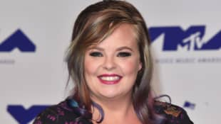 Catelynn Lowell attends the 2017 MTV Video Music Awards.