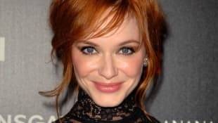 "Christina Hendricks starred as ""Joan Holloway"" in Mad Men"