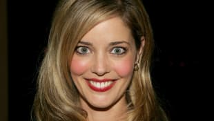 Christina Moore arrives at the 2005 Macy's Passport Gala held at Barker Hanger on September 29, 2005 in Santa Monica