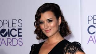 "Cote de Pablo palyed the role of """"Ziva David"""