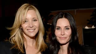 Courteney Cox and Lisa Kudrow