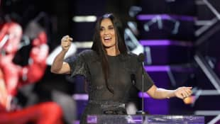Demi Moore in 2018