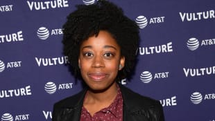Diona Reasonover attends Vulture Festival opening night party presented by AT&T on November 16, 2018 in Los Angeles, California.