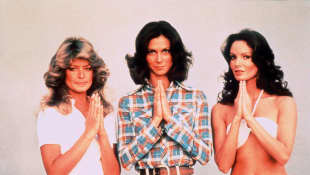 """Charlie's Angels"" stars Jackson, Fawcett and Smith"