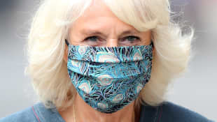 Duchess Camilla Steps Out Wearing Flashy Mask: Pictures Here
