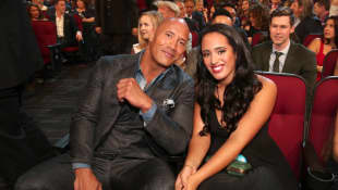 "Dwayne The Rock Johnson Is ""Very Proud"" After His Daughter Simone Johnson Signs Historic Deal With WWE"