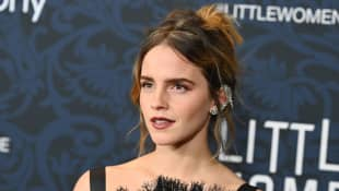 "Emma Watson attends the ""Little Women"" World Premiere at Museum of Modern Art on December 07, 2019 in New York City"