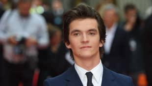 Fionn Whitehead poses on the red carpet arriving to attend the UK premiere of the film 'The Children Act' in London on August 16, 2018