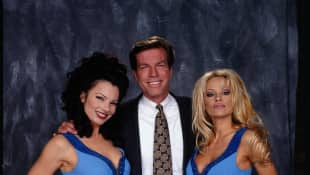 """""""Baywatch"""" star Pamela Anderson featured in """"The Nanny"""""""
