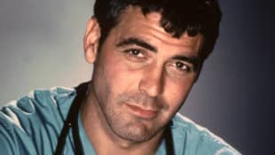 George Clooney in 'Emergency Room'