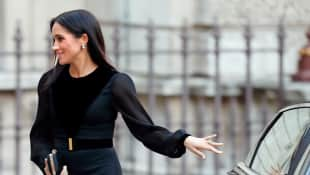 Duchess Meghan at the Royal Academy of Arts