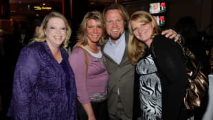 The cast of 'Sister Wives'