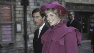 Prince Charles and Princess Diana