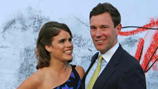 Princess Eugenie of York and Jack Brooksbank at The Serpentine Gallery, London