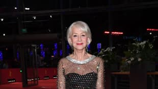 Helen Mirren arrives for the Homage Helen Mirren Honorary Golden Bear award ceremony during the 70th Berlinale International Film Festival.
