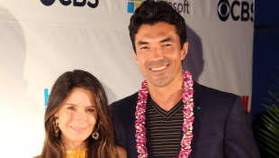 Ian Anthony Dale's wife Nicole Garippo