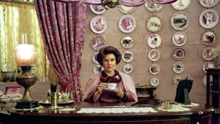 "Imelda Staunton as ""Dolores Umbridge"" in ""Harry Potter"""