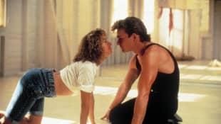 "Jennifer Grey and Patrick Swayze in ""Dirty Dancing"""