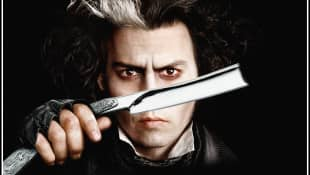 Johnny Depp in 'Sweeney Todd - The Demon Barber of Fleet Street'