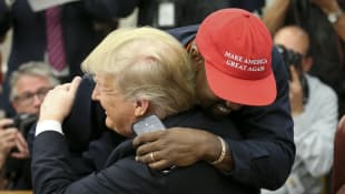 "Kanye West Wears MAGA Hat In Support Of Trump: ""Reminds Me How I Felt As A Black Guy Before I Was Famous"""