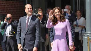 Prince William and Duchess Catherine abroad