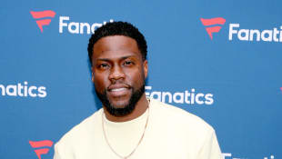 Kevin Hart attends Michael Rubin's Fanatics Super Bowl Party at Loews Miami Beach Hotel on February 01, 2020 in Miami Beach, Florida