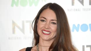 Lacey Turner with the award for Best Serial Drama Performance during the National Television Awards at The O2 Arena on January 25, 2017 in London, England
