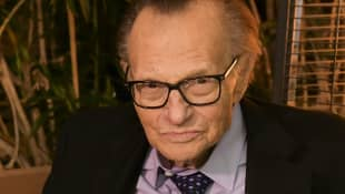 "'Larry King Won't Retire Even After Near-Fatal Stroke: ""I'd Like To Die At Work"""