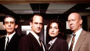 'Law & Order: SVU': This Was The Season 1 Cast 'Special Victims Unit' Christopher Meloni Mariska Hargitay Richard Belzer Dann Florek