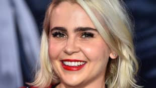 Mae Whitman attends the premiere of Columbia Pictures' 'Venom' at Regency Village Theatre on October 1, 2018 in Westwood, California