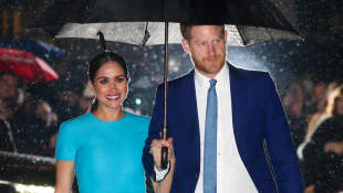 'Meghan Markle Joins Prince Harry Endeavour Fund Awards For First Public Appearance In UK Post-Megxit