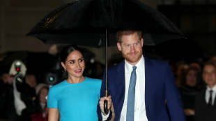 Meghan, Duchess of Sussex and Prince Harry, Duke of Sussex attend The Endeavour Fund Awards at Mansion House on March 05, 2020