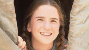 Melissa Gilbert in Little House on the Prairie.