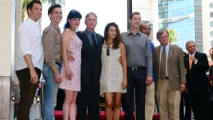 Micheal Weatherly, Sean Murray, Pauley Perette, Mark Harmon, Cote de Pablo, Rocky Carroll and David McCallum