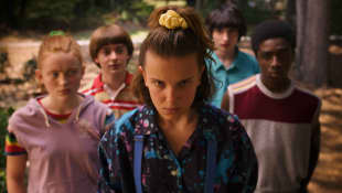 Scene from the series 'Stranger Things'
