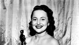 Olivia de Havilland at the Academy Awards in 1946