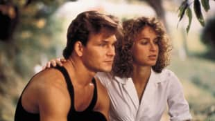 Patrick Swayze and Jennifer Grey in 'Dirty Dancing'.