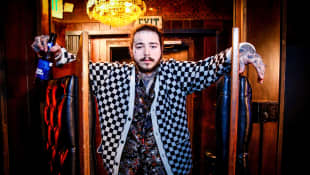 "Post Malone Opens Up About His Face Tattoos : ""They Come From a Place of Insecurity"""